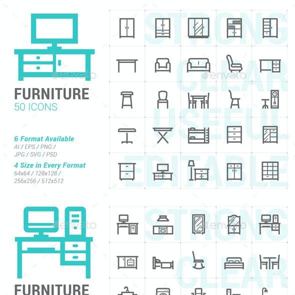 Furniture Mini Icon