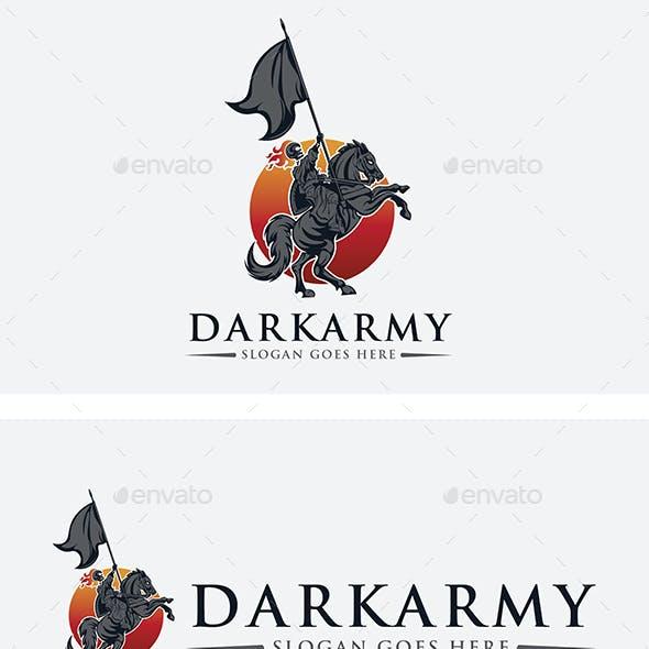 Darkness Skull Army Logo