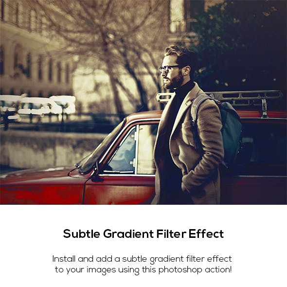 Subtle Gradient Filter Effect
