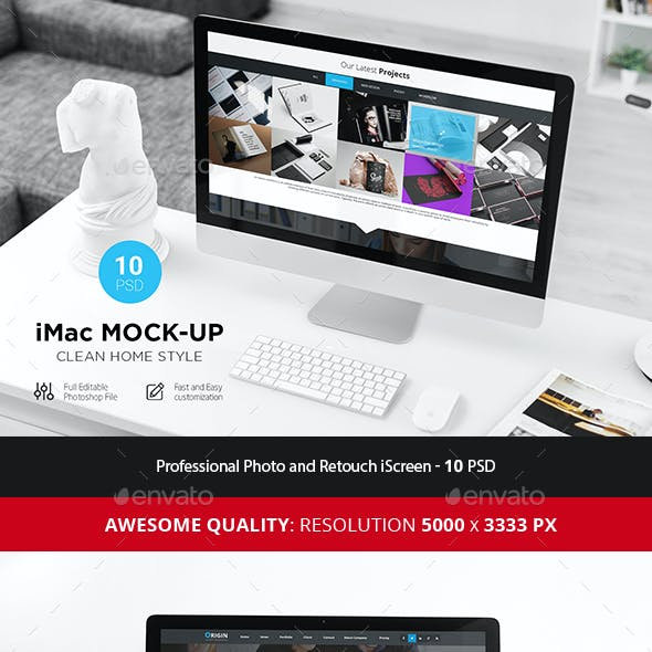 iScreen Desk Mock-Up