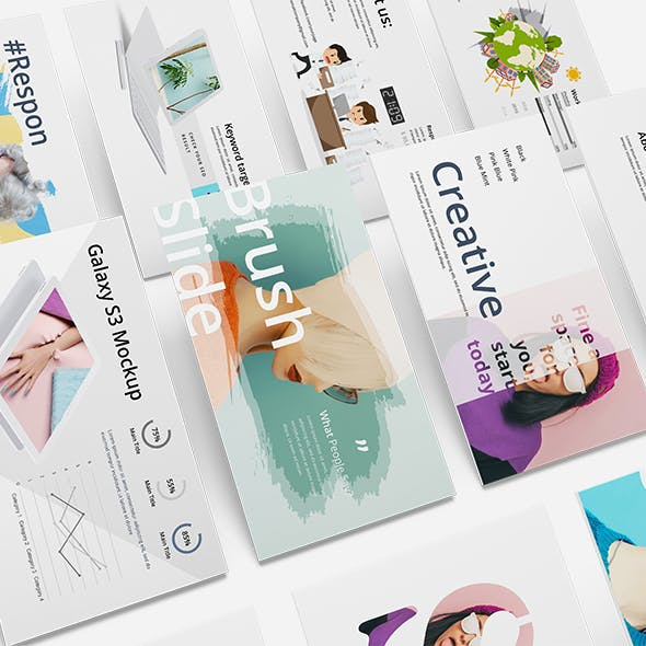 Unique Creative Powerpoint Template