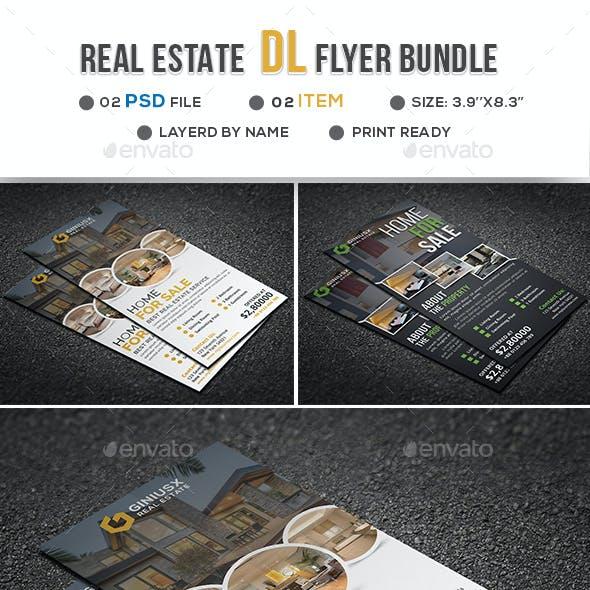 Real Estate DL Flyer Bundle
