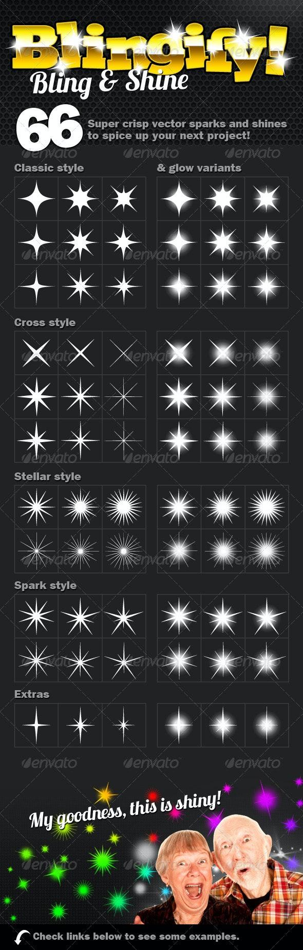 BLINGIFY! Bling & Shine - Miscellaneous Vectors