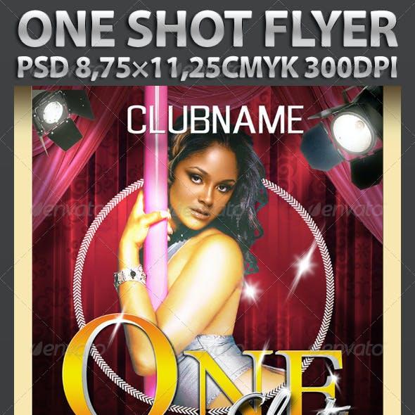 One Shot Flyer