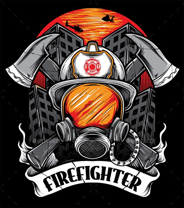 FIREFIGHTER - T-Shirts