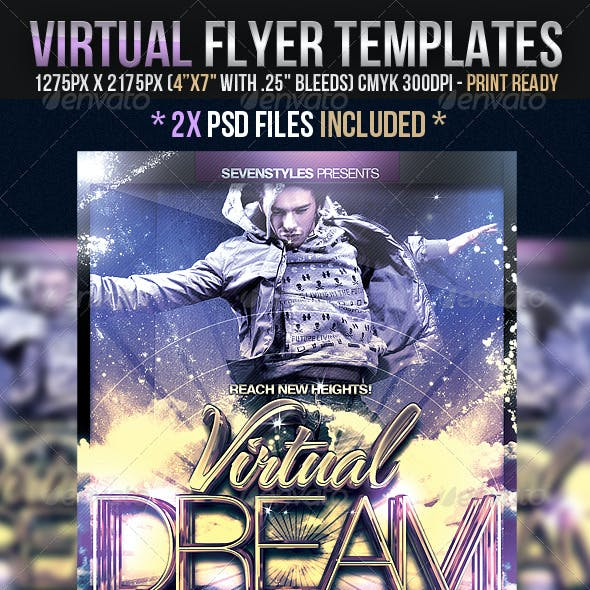 Virtual Flyer Templates