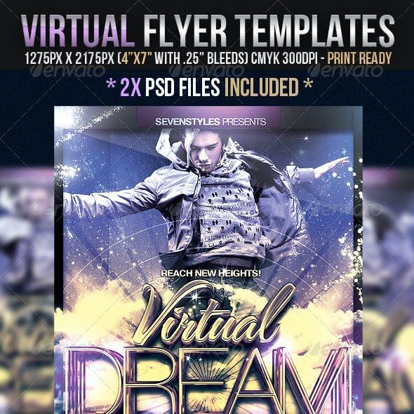 Virtual Flyer Templates
