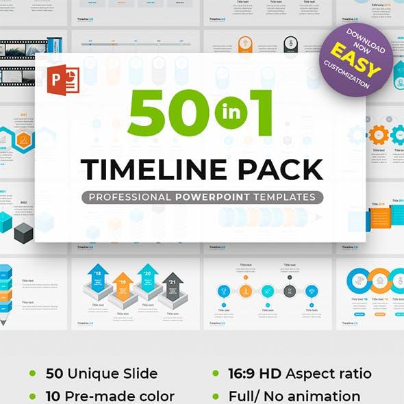 Timeline Pack 50 in 1