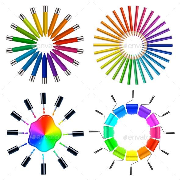 Color Scheme Art Objects - Miscellaneous Vectors