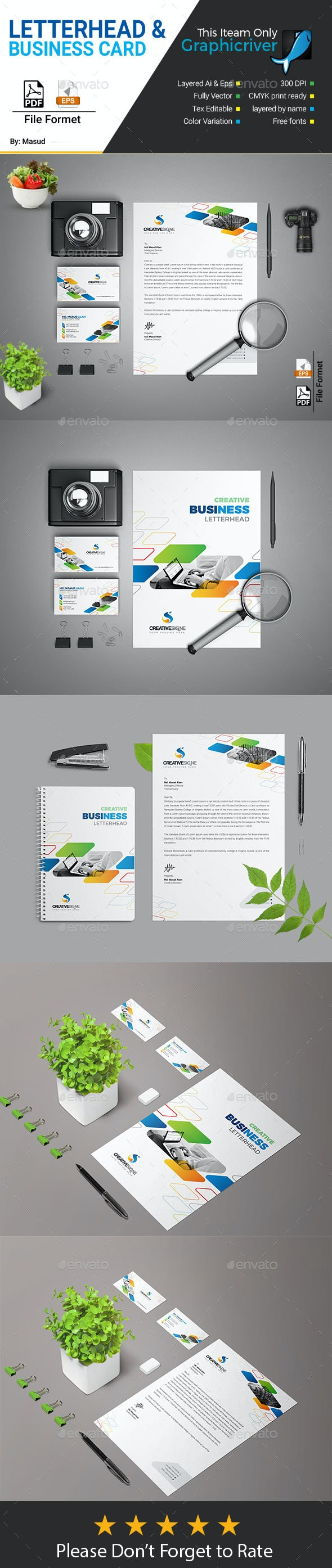 Stationary Pack 2 in 1 - Stationery Print Templates