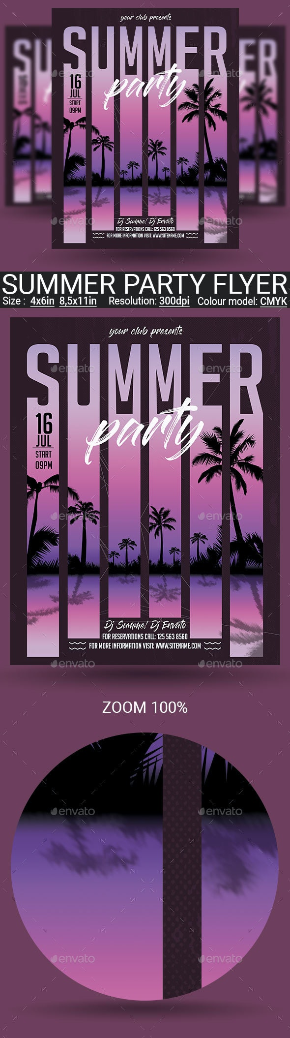 Summer - Clubs & Parties Events