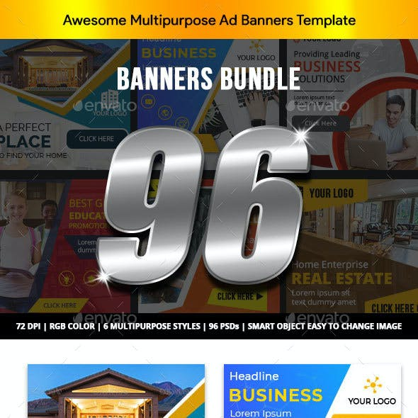 Banner Ads Bundle V2 - AR