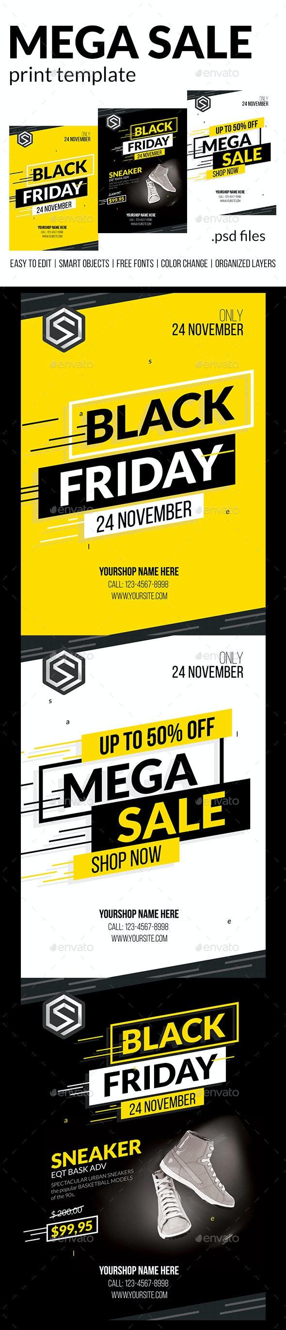 Mega Sale - Commerce Flyers