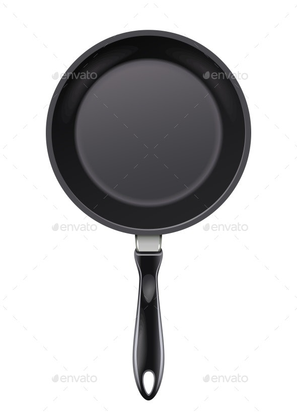 Pan for Frying Food - Man-made Objects Objects