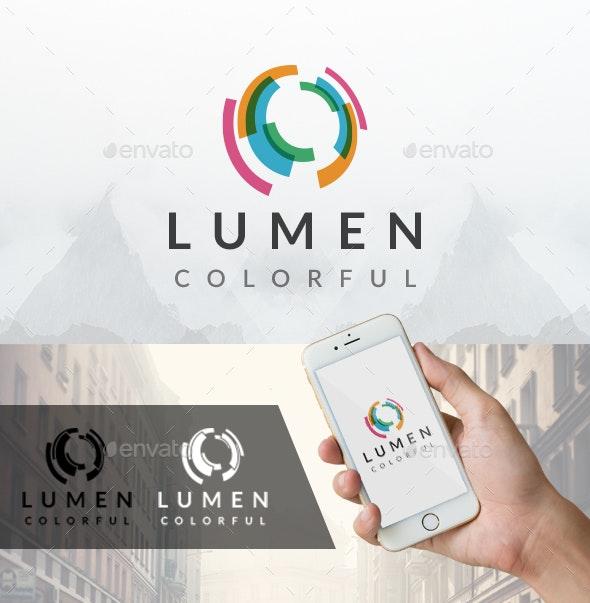 Lumen Light Logo - Vector Abstract
