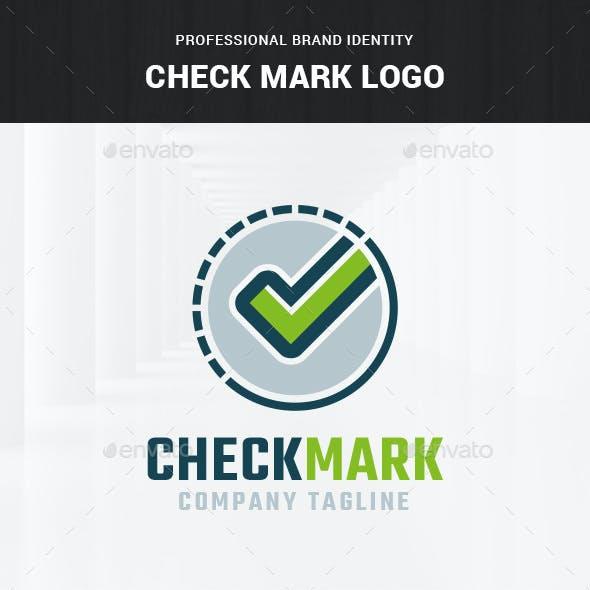 Check Mark Logo Template