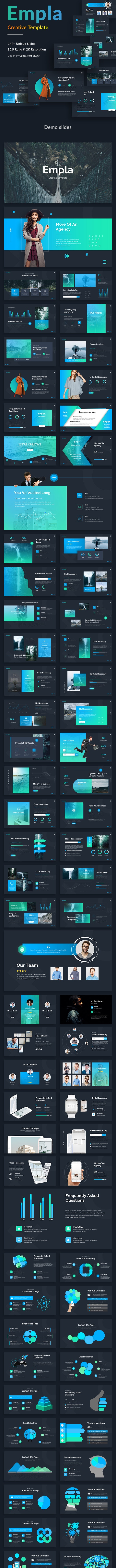 Empla Creative Keynote Template - Creative Keynote Templates