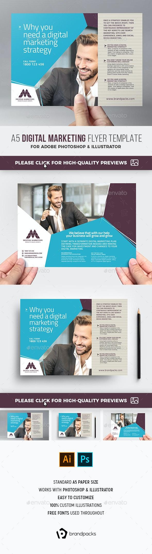 Digital Marketing Flyer Template - Corporate Flyers