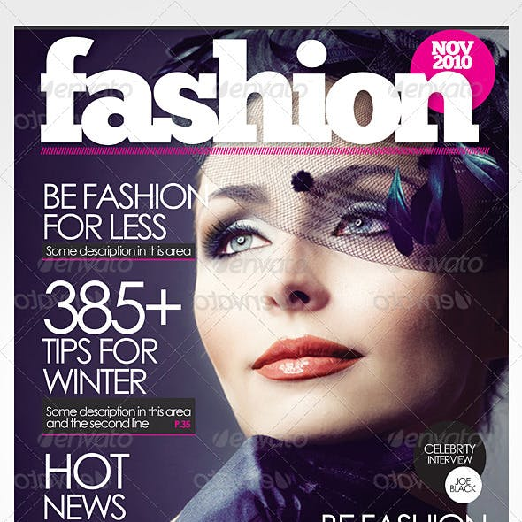 Magazine Cover Graphics Designs Templates From Graphicriver