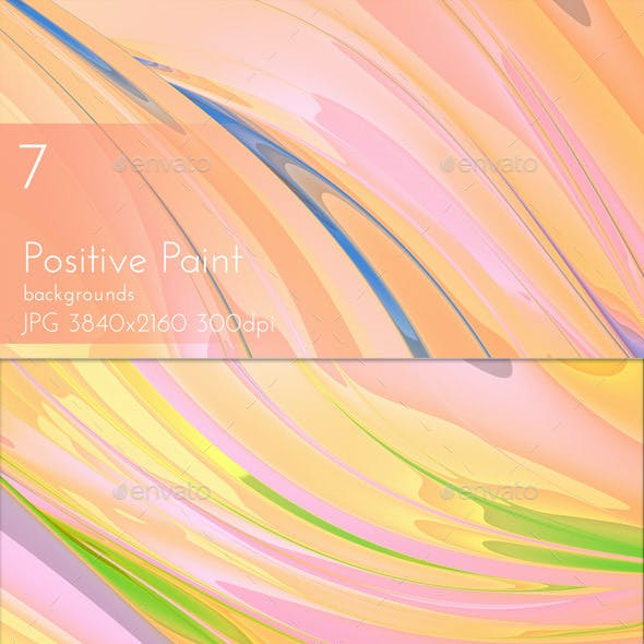 Positive Painted Background