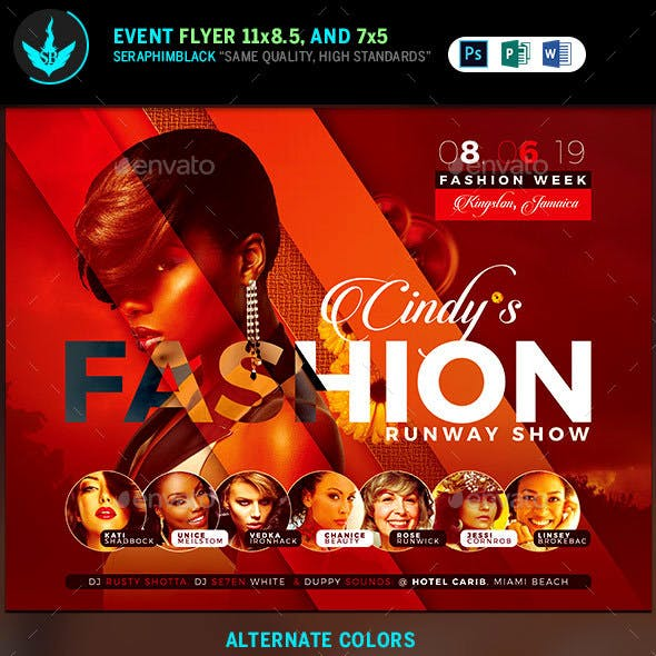 Fashion Conference Flyer Template 3