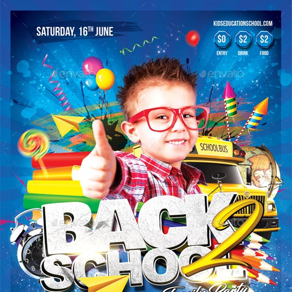 Back 2 School Family Party
