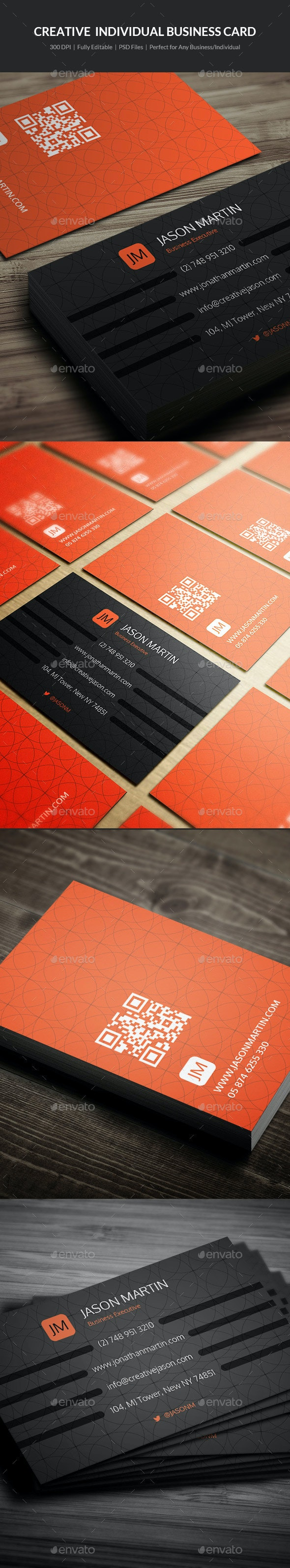 Creative Individual Business Card - 07 - Creative Business Cards