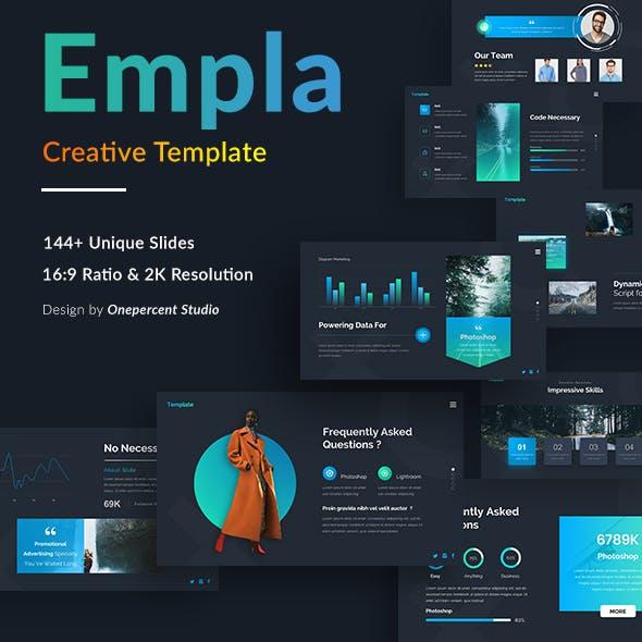 Empla Creative Google Slide Template
