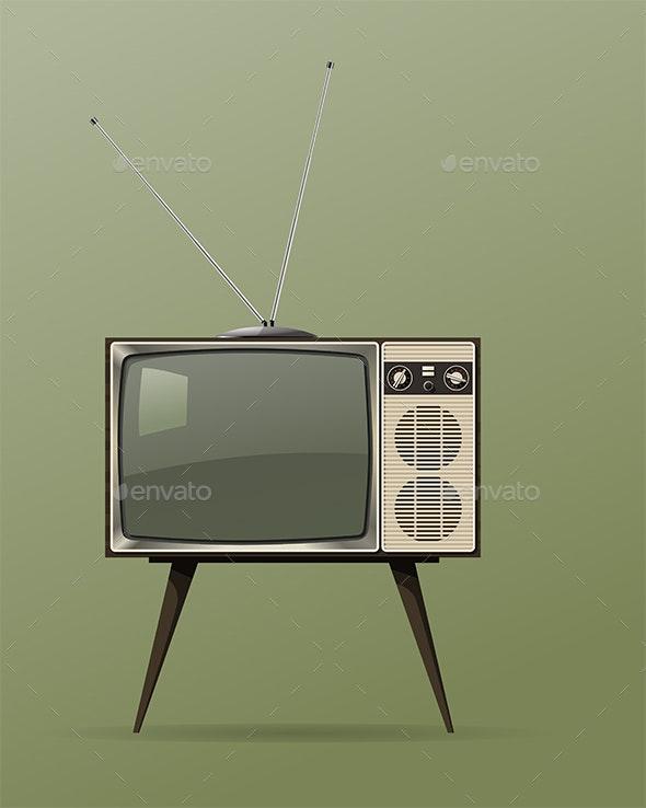 Old TV - Retro Technology