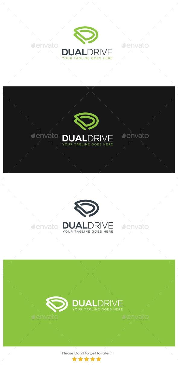 Dual Drive Logo - Letters Logo Templates