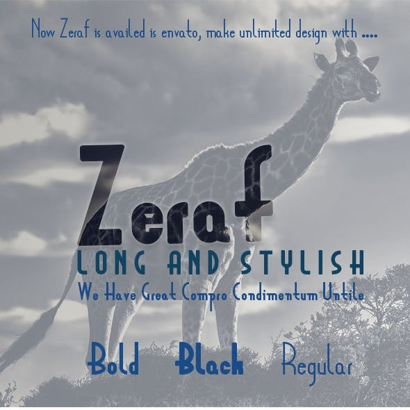 Zeraf Font
