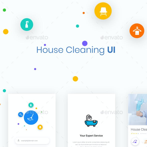 House Cleaning UI