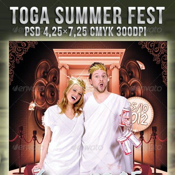 Toga Summer Fest