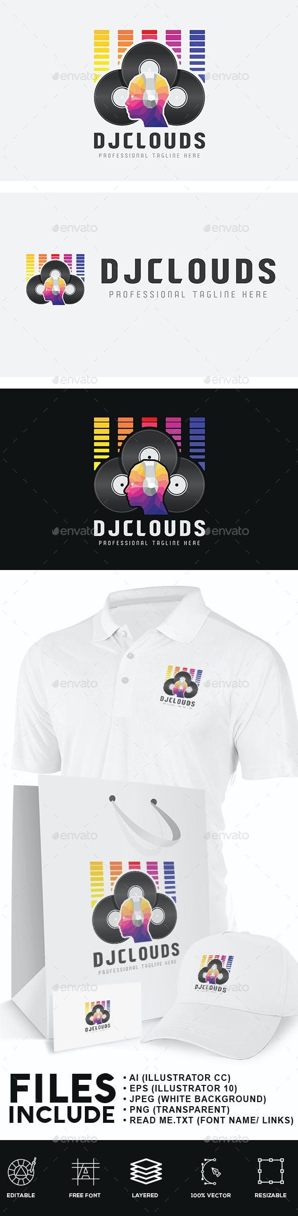 DJ Cloud Logo