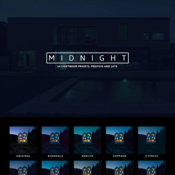 14 Mightnight Presets and Profiles