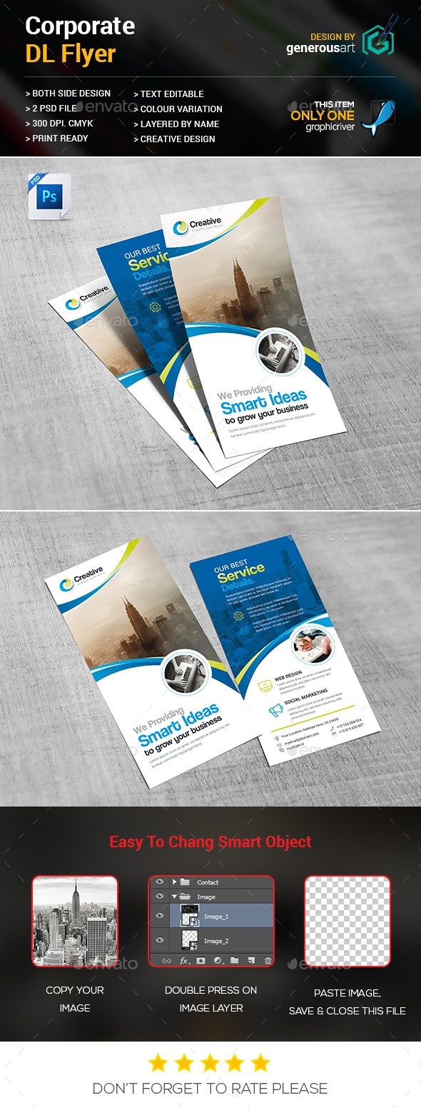 DL-Flyer - Corporate Flyers