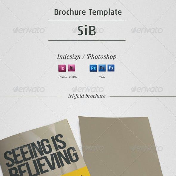 SiB - Trifold Brochure