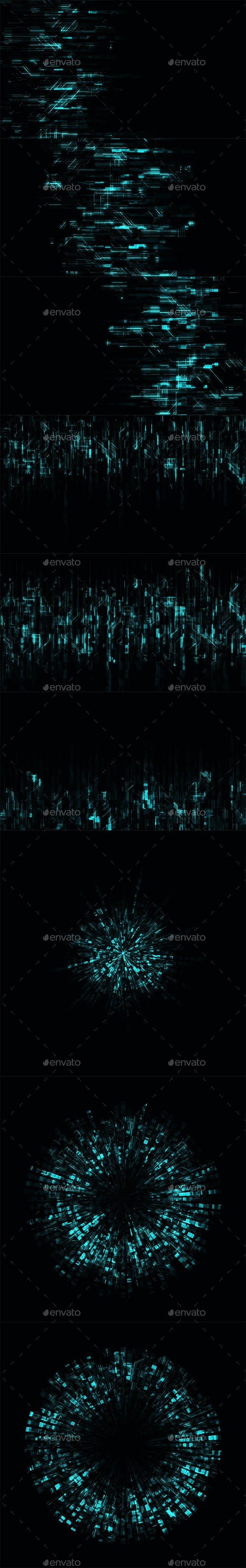 Digital Light - Abstract Backgrounds