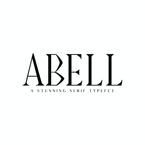 Abell Serif 6 Font Family Pack