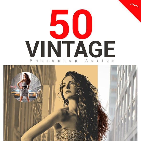 50 Vintage Actions