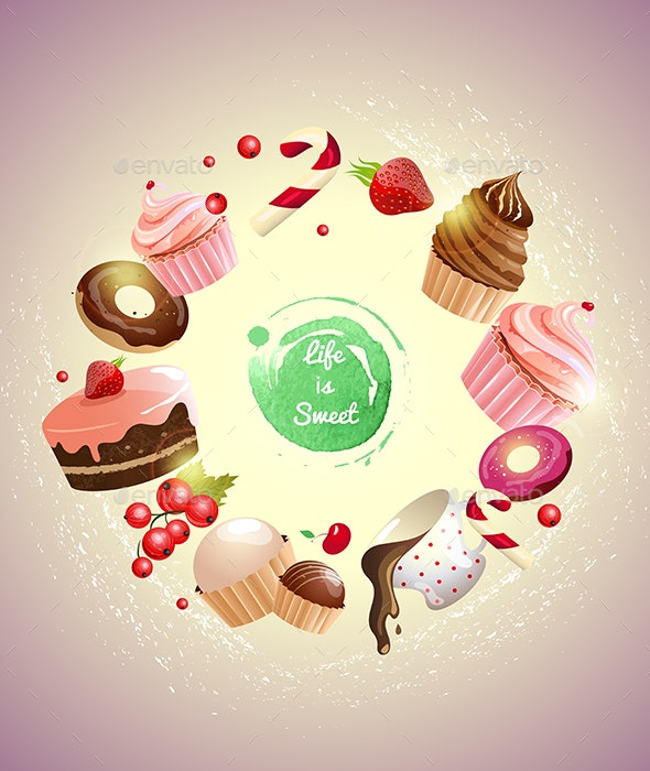 Life is Sweet - Food Objects