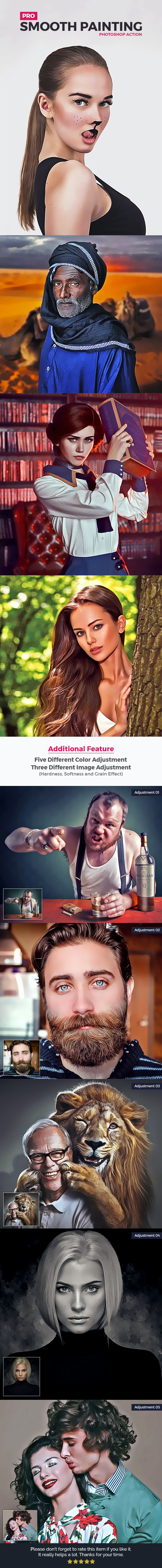Pro Smooth Painting - Photo Effects Actions