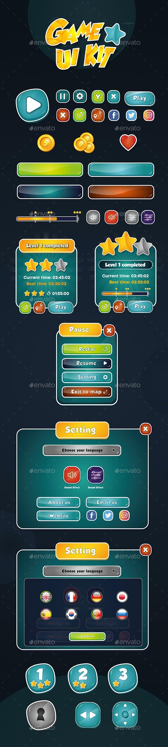 Game UI Kit V1