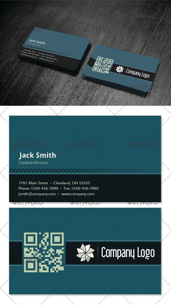 Neutral Business Card - Corporate Business Cards