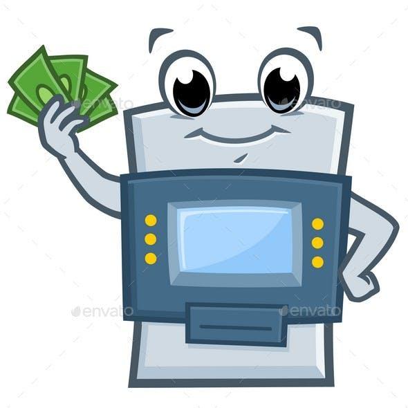 Cartoon ATM Machine