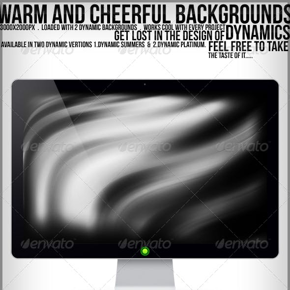 Warrm & Cheerful Backgrounds