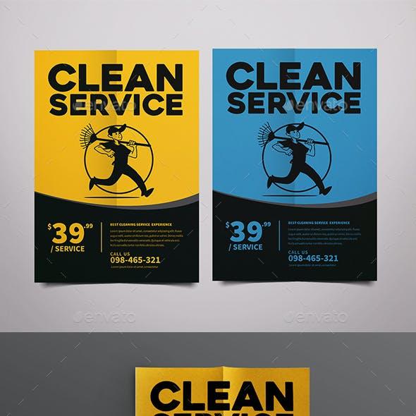 Clean Service Flyer