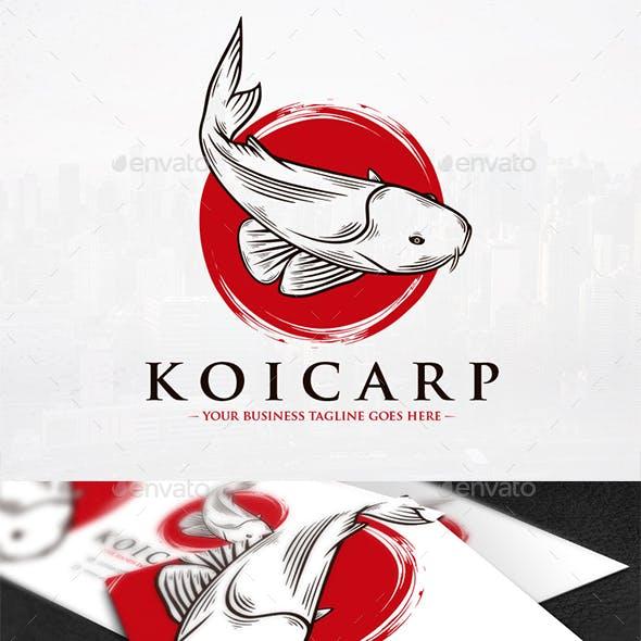 Koi Carp Logo Template
