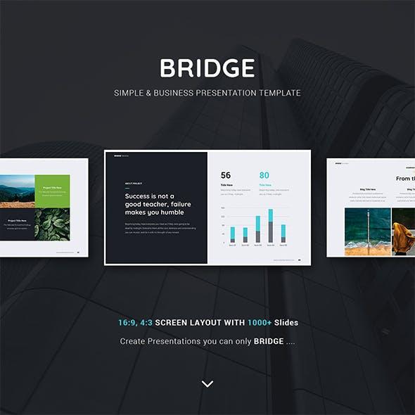 BRIDGE Business & Multipurpose Template (Keynote)