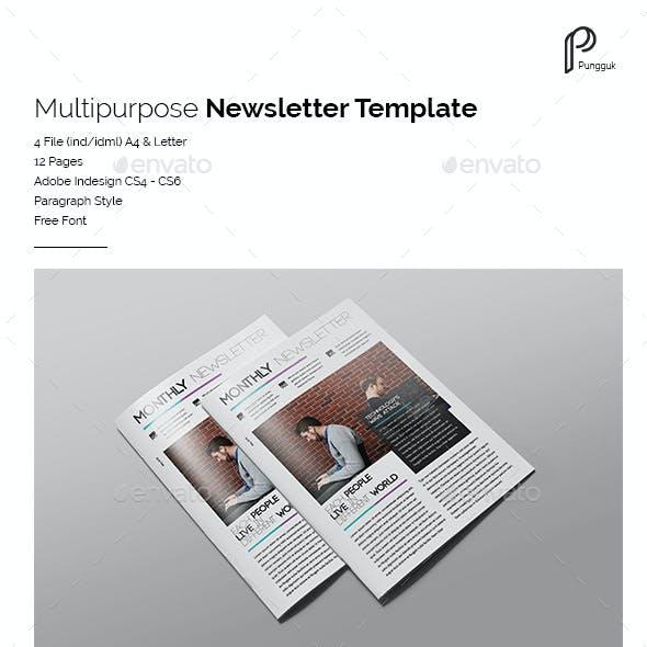 Multipurpose Newsletter Vol.5